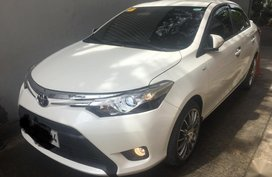 Pearl White Toyota Vios 2013 for sale in Automatic