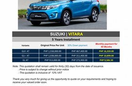 Brand New 2020 Suzuki Vitara in Pasig - WE CATER ALL BRANDS AND VARIANTS
