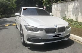 White Bmw 318D 2019 for sale in Manila