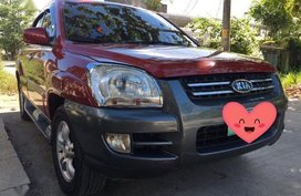 Sell Red 2009 Kia Sportage in Butuan city