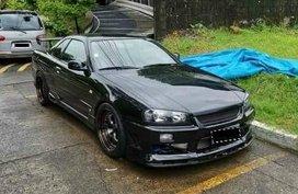Black Nissan Skyline 1999 for sale in Manila