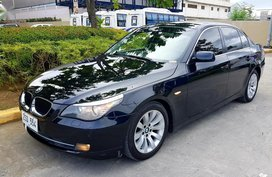 Black Bmw 520D 2008 for sale in Las Piñas