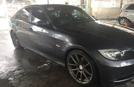 Selling Black Bmw 3-Series 2007 in Manaluyong