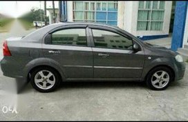 Selling Grey Chevrolet Aveo 2011 in Manila