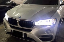 Selling Silver Bmw X6 2016 in Mandaluyong
