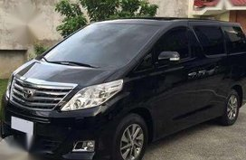 Black Toyota Alphard 2014 for sale in Automatic