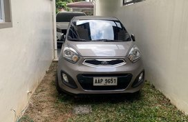 Sell Grey 2014 Kia Picanto in Manila
