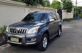 Black Toyota Land cruiser prado 2003 for sale in Automatic