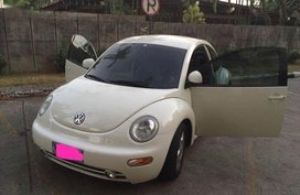 White Volkswagen Beetle 1998 for sale in Manila