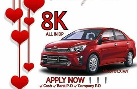 Red Kia Soluto 0 for sale in