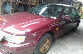 Sell Red 1998 Nissan Cefiro in Quezon City