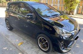 Black Toyota Wigo 2017 for sale in Cavite