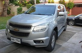 Sell Silver 2014 Chevrolet Trailblazer in Manila