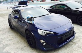 Blue Toyota 86 2016 for sale in Automatic