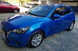 Selling Blue Mazda 2 2015 in Manila