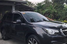 Black Subaru Forester 2018 for sale in Automatic