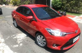Selling Red Toyota Vios 2015 in Manila