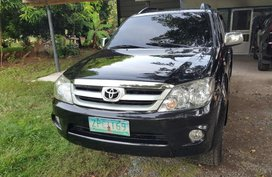 Sell Black 2008 Toyota Fortuner in Manila