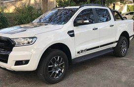 Sell White 2017 Ford Ranger in Manila