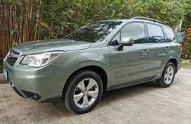 Green Subaru Forester 2013 for sale in Automatic