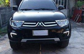 Sell Black 2015 Mitsubishi Montero sport in Manila
