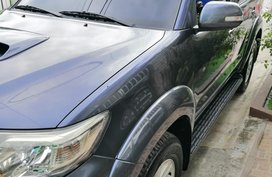 Blue Toyota Fortuner 2013 for sale in Automatic
