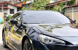 Sell Black 2013 Toyota 86 in Quezon City