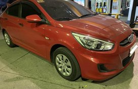 Sell Red 2017 Hyundai Accent in Makati