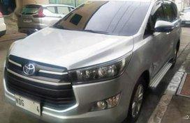 Silver Toyota Innova 2015 for sale in Manual