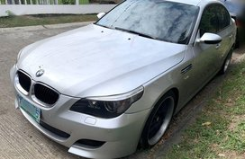 Silver Bmw 530D 2004 for sale in Caloocan