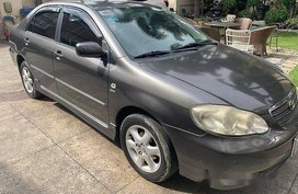 Sell Grey 2004 Toyota Corolla altis in Manila