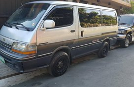 Sell Silver 1997 Toyota Hiace in Quezon City