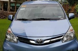 Selling Blue Toyota Avanza 2016 in Manila