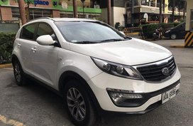 White Kia Sportage 2014 for sale in Makati