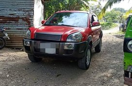 Red Hyundai Tucson 2011 for sale in Manila