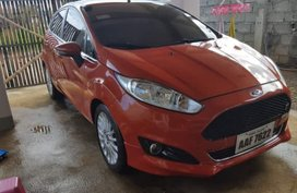 Selling Red Ford Fiesta 2014 Hatchback in Malaybalay