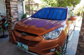 Selling Orange Hyundai Tucson 2013 in San Pascual