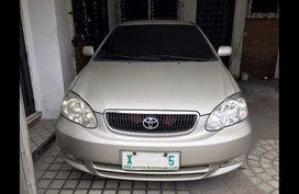 Selling Silver Toyota Corolla altis 2003 Sedan in Quezon City