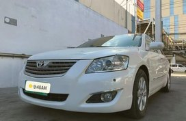 Pearl White Toyota Camry 2009 for sale in Imus
