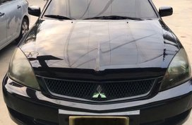 Selling Black Mitsubishi Lancer 2008 in Manila
