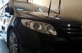 Black Toyota Corolla altis 2008 for sale in Manual
