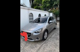 Silver Mazda 2 2017 Sedan for sale in Quezon City