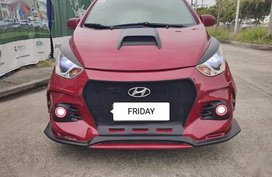 Selling Red Hyundai Eon 2015 in Manila