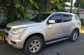 Silver Chevrolet Trailblazer 2014 for sale in Manila