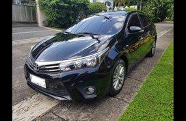 Black Toyota Corolla altis 2015 Sedan for sale in Quezon City
