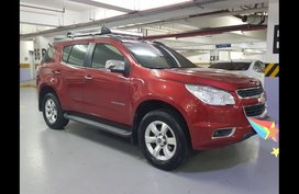Selling Red Chevrolet Trailblazer 2013 SUV / MPV at 70000 in Quezon City