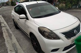 White Nissan Almera 2014 for sale in Calamba