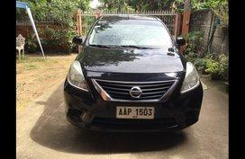 Black Nissan Almera 2014 Sedan for sale in Manila