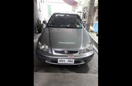Silver Honda Civic 1997 Sedan at  Automatic   for sale in Quezon City