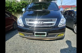 Black Hyundai Grand starex 2008 Van for sale in Sariaya